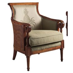 1stdibs Armchair 19th C West Indies Cane Campeche