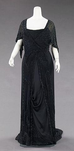 Evening Mourning Dress 1910-1912 The Metropolitan Museum of Art