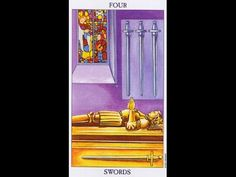 Tarot Card Lessons Made Easy: Highlighting the 4 of Swords With Lady Lee...