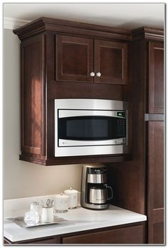 Storage Solutions Details Wall Microwave Shelf