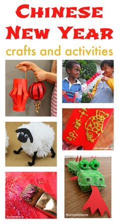 Chinese New Year activities for children, CNY crafts, Chinese new year crafts, Chinese New Year unit