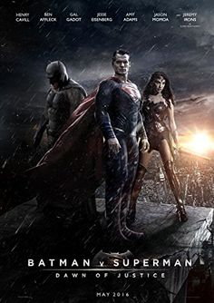 Batman Vs Superman Dawn of Justice  Movie Poster 24 x 36 Inches  Glossy Photo Paper Thick 8 Mil Ben Affleck Henry Cavill Jesse Eisenberg * Read more reviews of the product by visiting the link on the image.Note:It is affiliate link to Amazon.