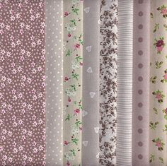 Set de telas - 8 telas (marrón, beige y gris) - colección de telas de coordinación (pequeños diseños) | 100% algodón | 46 x 56 cm Textiles français http://www.amazon.es/dp/B00O0W1NNW/ref=cm_sw_r_pi_dp_5Afevb1ZVXAJE