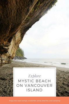 Mystic Beach on Vancouver Island, BC is the perfect place to enjoy ocean side, beach camping! Mystic Beach is part of the Juan de Fuca trail but you don't need to be an expert backpacker to enjoy it. Camping is only $10 a person and can be hiked in from t