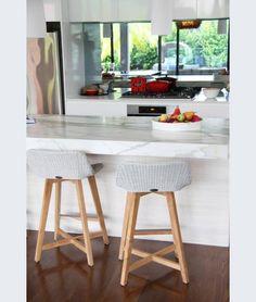 Bar and Kitchen Stools Online Kitchen Stools With Back, Wooden Kitchen Stools, Stools With Backs, Kitchen Seating, Kitchen Counter Stools, Kitchen Interior, Kitchen Decor, Kitchen Ideas, Breakfast Bar Stools