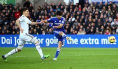 Diego costa scored 2 goals