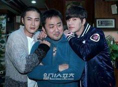 park hae jin/parkhaejin, chodonghyuk, madongseok bad guys #나쁜녀석들 korean drama