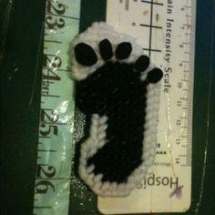 Free Stuff: Plastic Canvas Footprint Magnet - Listia.com Auctions for Free Stuff
