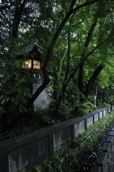 Japanese Garden - Ishiura Shrine, Kanazawa