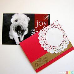 Two Simple DIY Christmas Card Ideas