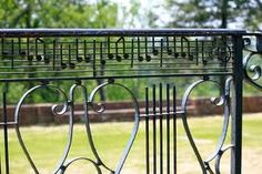 Music note railing at Chatham manor. Chatham Manor, School Prayer, Prayer Garden, Music Notes, Outdoor Furniture, Outdoor Decor, Playground, To Go, Outdoor Structures