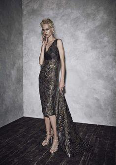 Black Dress by Alberta Ferretti, Look #27