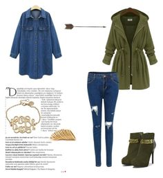 """""""Autumn style"""" by abecic ❤ liked on Polyvore featuring CHARLES & KEITH, Balmain, Creative Co-op and Shaun Leane"""