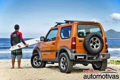 Suzuki Jimny 4SPORT 2015 é lançado com preço de R$ 64.990