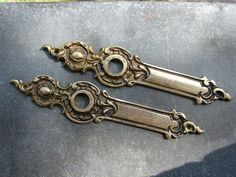 Solid Brass Decorative Door by plates