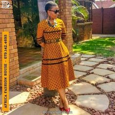 Must Have Trendy Africa Styles For Ladies - Reny styles African Print Dresses, African Fashion Dresses, African Dress, African Prints, Fashion Outfits, African Attire, African Wear, African Women, African Style
