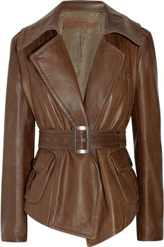 brown leather <3