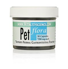 Pet Flora - Soil Based Probiotic for Cats - Supports Normal Gastrointestinal Function ** You can get more details by clicking on the image.