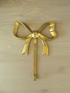 Bow Wall Hook by loveemmagray on Etsy