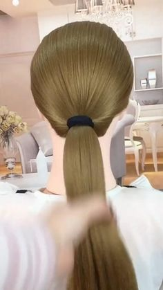 Hairdo For Long Hair, Easy Hairstyles For Long Hair, Up Hairstyles, Hairdos, Hair Tutorials For Medium Hair, Natural Hair Styles, Short Hair Styles, Hair Upstyles, Hair Videos