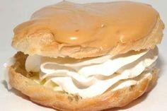 větrníky z odpalovaného těsta | recept Pancakes, Breakfast, Food Ideas, Jar, Morning Coffee, Pancake, Glass, Crepes, Jars
