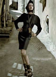 Anouck Lepere by Jean François Campos for Flair October 2010