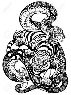 snake&tiger