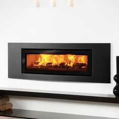 Stovax Riva Studio 3 Inset Wood Burning Stove - DEFRA Approved - All Stoves - Stoves Are Us