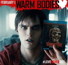 Adolescence makes for laughs, sentimentality in zombie movie 'Warm Bodies'. Best Zombie Movies, Good Movies, Awesome Movies, Best Love Stories, Love Story, Warm Bodies Movie, Nicholas Hoult, Love Never Dies, We Movie