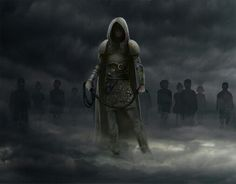 Cotillion, The Rope - Malazan Book of the Fallen. Dancers' Ascendant form, amazing moody pic.