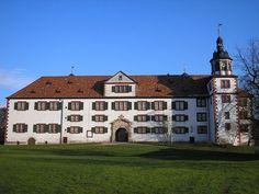 Schloss Wilhelmsburg in Schmalkalden (Thüringen).  Gezien zomer 2013