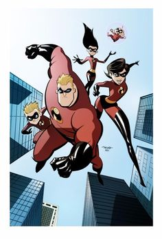 the Incredibles by Marcio Takara