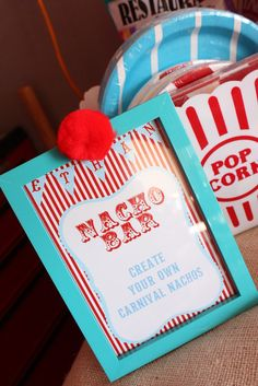 Vintage Carnival Birthday Party Ideas Photo 48 of 94 Catch My Party Vintage Circus Party, Circus Carnival Party, Circus Theme Party, Carnival Birthday Parties, First Birthday Parties, Birthday Party Themes, First Birthdays, Carnival Ideas, Carnival Food