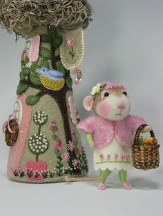 Needle Felting / Needle Felted Creations By Barby Anderson: March 2011