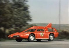"Spectrum Patrol Car in ""Captain Scarlet and the Mysterons, 1967-1968"