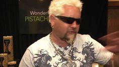 Liked on YouTube: Guy Fieri on pistachios | Wonderful Pistachios