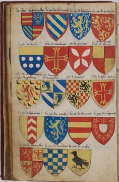 Another Folio from the Armorial Le Breton