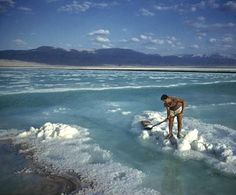 If I were ever brave enough to travel to Israel, I'd do it to visit one of those amazing spas on the Dead Sea. With the special Dead Sea Salt!