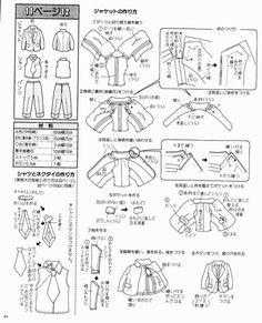 Free Jacket, Vest & Slacks Pattern - Page 1 of 2
