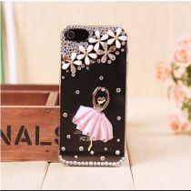 Cute ballet rhinestone iphone 5 case for big sale!