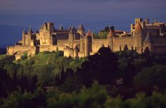Fortified medieval town of Carcassonne (France)
