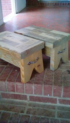 awesome scrap 2x10 project... by http://www.coolhome-decorationsideas.xyz/stools/scrap-2x10-project/