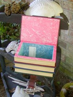 Recycled Books as Bags