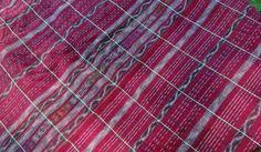 Guatemalan Ikat Corte in Red by Spanglishfabrics on Etsy, $14.00