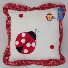 bedbathstore.com Lady bug yard throw pillow