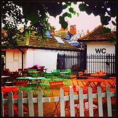 Clapham Common, Great Britain, Toilet, Fair Grounds, British, England, Wine, App, London