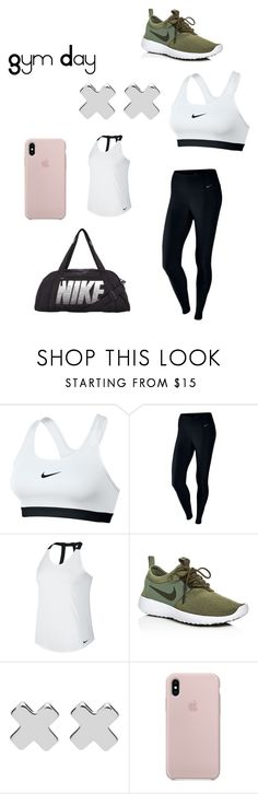 """Gym Day"" by lilyveness on Polyvore featuring NIKE and Witchery"