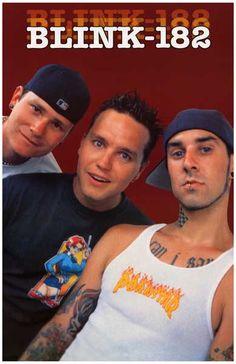 Blink-182 Mark Puerile Punks Poster 11x17