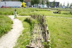 Down by the willow bench. Primary School, Playground, Recycling, Bench, Green, Outdoor, Children Playground, Outdoors, Upper Elementary
