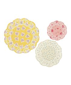 Look at this Truly Scrumptious Doily - Set of 72 on #zulily today!